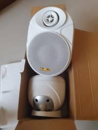 Caixa Acústica Som Ambiente Elips 400 Branca 60w Rms