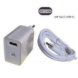 ? Carregador Para Celular Motorola 15W Turbo Power 3.0 Tipo C