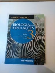 Livro Biologia das populações- Amabis