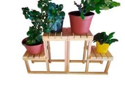 Par De Suporte Modulares Para Vasos De Plantas