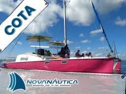 Cota Veleiro catamarã para curtir com amigos e familia.