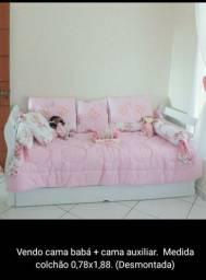 Cama auxiliar + cama babá