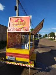 Carretinha Food Truck Carrinho de Churros