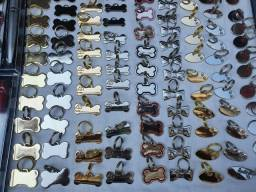 Medalhas pet com nome e tel gravados