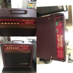 Amplificador acústico para violão