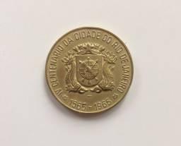 Medalha IV Centenário da Cidade do Rio de Janeiro 400 Anos