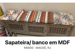Sapateira / banco
