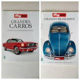 Revistas Quatro Rodas Grandes Carros e Grandes Brasileiros