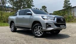 Toyota Hilux Srv 4x4 AUT 2019 Impecável