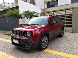 Jeep Renegade Longitude 2018, Top, Couro, Ú.dono, Impecável, Financio