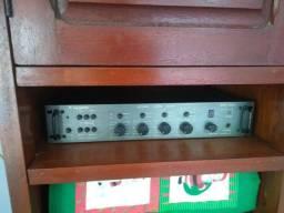 Stereo Áudio Mixer CIGNUS Padrão Rack
