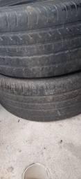 Venfo 3 pneus aro 16 meia vida   goodyea medida215/55 apenas 150 reas