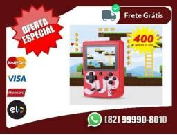 Entregagratis-cell- *+>Portátil Game Box Retro 400 Jogos + Cabo Av - Lançamento