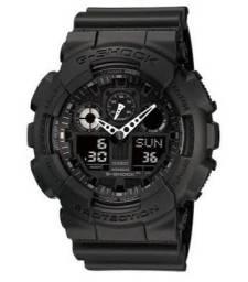 Relógio Casio G-Shock GA-100 Original Novo - Menor Preço do Brasil