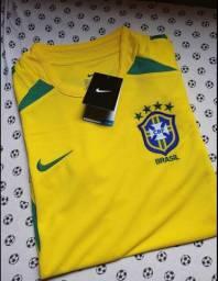 Camiseta Seleção Brasileira 2002