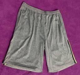 3 Shorts masculinos body work tamanho M novos   R$ 15 cada