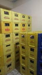 Grade de cerveja Brahma e Schin litrão cheia