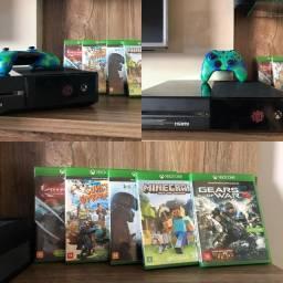 Xbox one 500gb, impecável