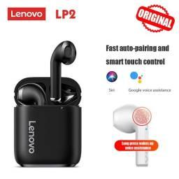 Fone de Ouvido Lenovo LP2 Bluetooth 5.0