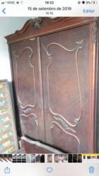 Armario madeira 2 portas