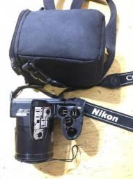 Câmera Semi Nova Nikon L820 Super Zoom Full Hd