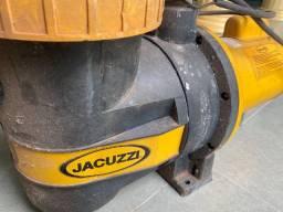 Bomba para piscina marca Jacuzzi