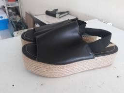 Sandália moleca ,tamanho 38