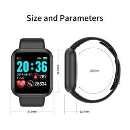 Relogio Inteligente Smartwatch D20 Bluetooth monitor Cardiaco