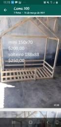Cama casinha (Montessori)