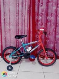 Promocao bicicleta aro 16(pass cartoes *