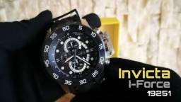 Relógio Masculino Analógico Invicta Pro Diver 19251 - Preto