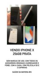 IPhone X 256gb usado ! Impecável