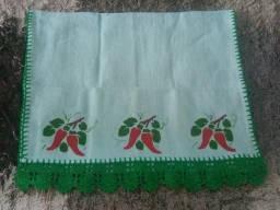 Promoção Panos de Prato Artesanais Feitos em Crochê