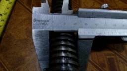 Fuso Trapezoidal Tr25 passo 5mm