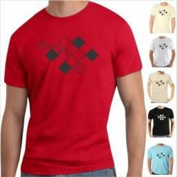 Kit 10 camisetas - R$ 120,00 - Frete Grátis