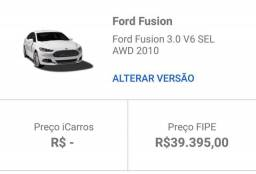 Ford Fusion 09/10 3.0 AWD R$20.000,00 - 2010