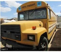 Ônibus furgao americano - 1988