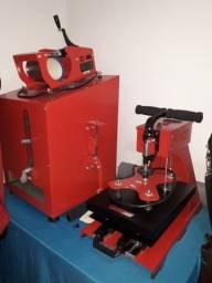 Máquinas para trabalhar com sublimação