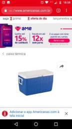 Caixa térmica 48 litros seminova