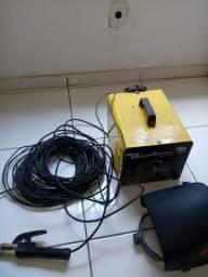 Vendo máquina de solda ESBA 250 e máscara de solda automática