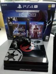 Playstation 4 PRO Edição Especial. Aceitamos Vídeo Games como parte do pagamento
