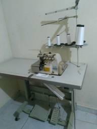 Máquina de costura industrial 5 fios