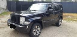 Jeep Cherokee sport 3.7 2008* preta*ipva 2019 pago*tração 4x4*automática*impecavel - 2008