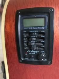 Violão Crafter De7 + Transmissor sem fio Takstar