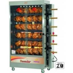 Frangueira 30 frangos inox á gás Progas