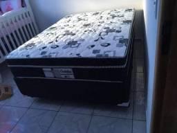 ::: Conjunto cama Box Colchao Produrmi Probel casal 138x188 Molas ensacadas Pocket