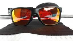 d952a114b3c93 Óculos Oakley Crossrange XL Preto Rubi Prizm - Importado E Novo