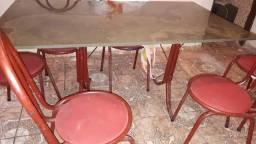 mesa tampo de ardosia