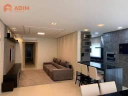 Apartamento á venda Centro de Balneário Camboriú, Edifício Dolce Vitta, com 03 suítes