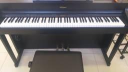 Vendo ou troco piano roland HP 603